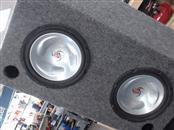 "KENWOOD Car Speakers/Speaker System 10"" SUB"